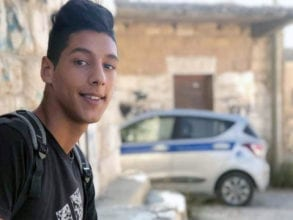 Said Yousef Mohammad Odeh, 16, was shot to death by an Israeli soldier on May 5.