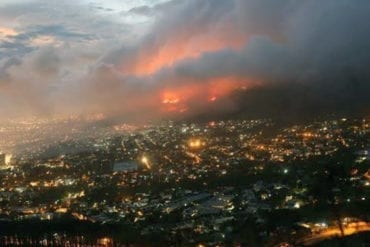 Table Mountain Fires in 2021