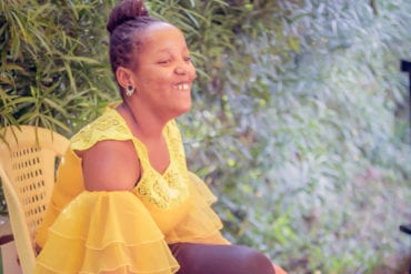 Wantjiku Waithere was diagnosed with cerebral palsy when she was six