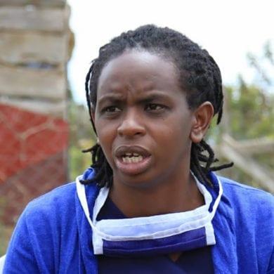 Elizabeth Muriuki was a teen mother in Kenya who helps young women in Kenya through Serene Haven Secondary School