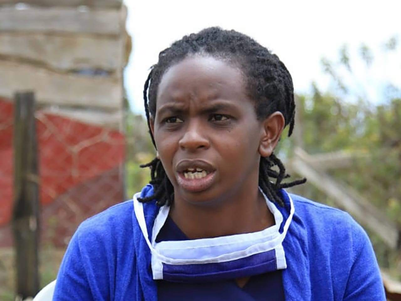 Elizabeth Muriuki was a teen mother in Kenya who helps young women in Kenya through Serene Haven Secondary School