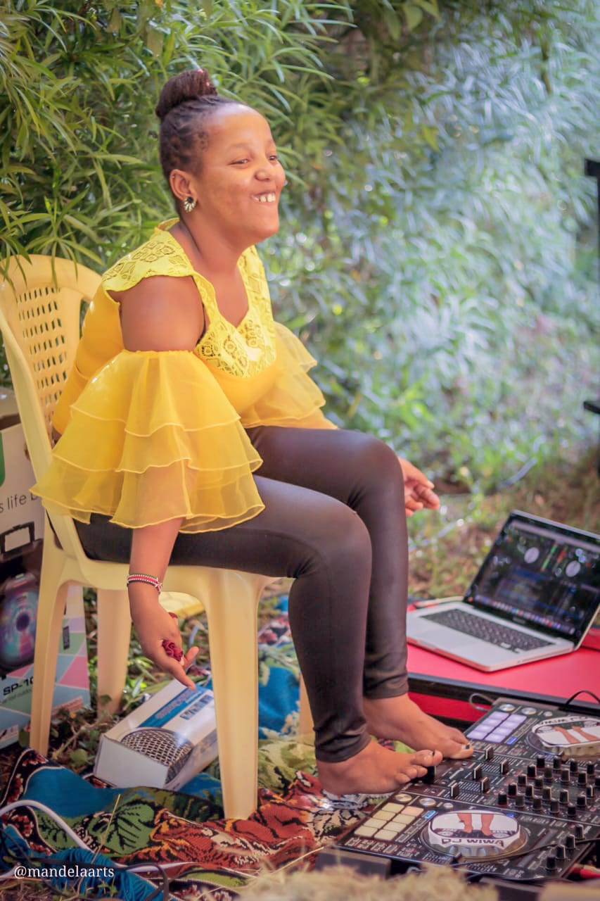 Wantjiku Waithere was diagnosed with cerebral palsy