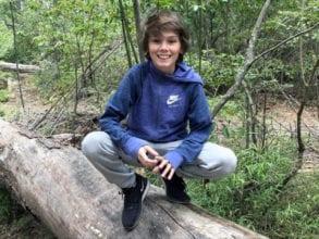 Ramiro Merlo, a 15-year-old boy, suffers from cystic fibrosis.