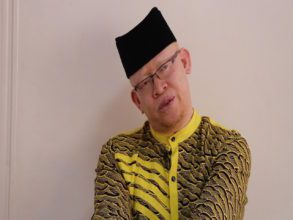Isaac Mwaura-Chairman of the Albinism Society of Kenya.