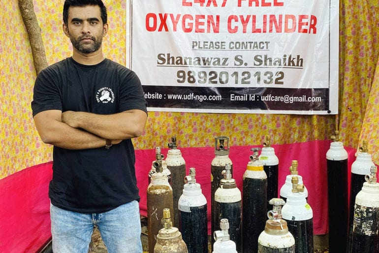 Shahnawaz Sheikh is working 24/7 to save as many lives as he can through his Unity & Dignity Foundation. | Shahnawaz Sheikh