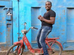 Lincoln Wamae, founder of Linccell Technology, based in Githurai, Kenya.
